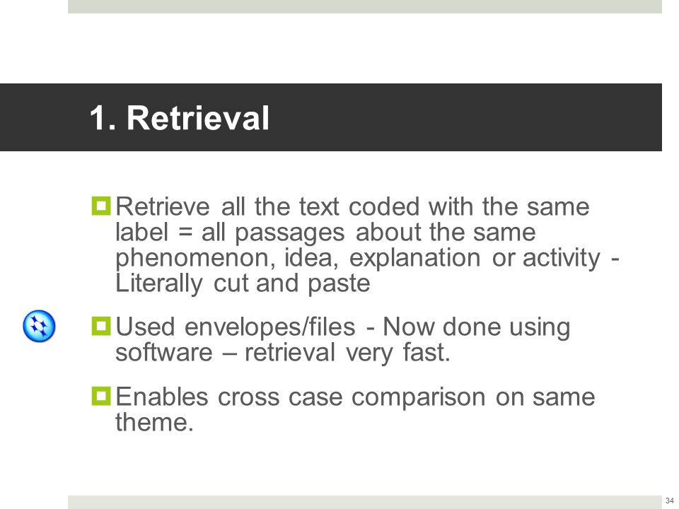1. Retrieval