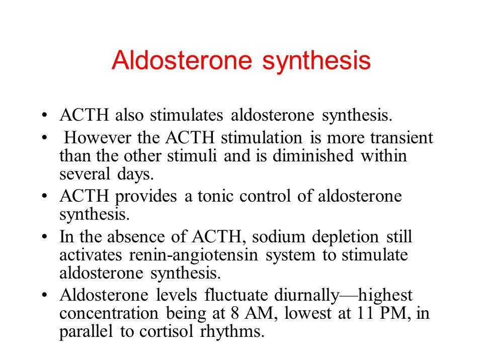 Aldosterone synthesis