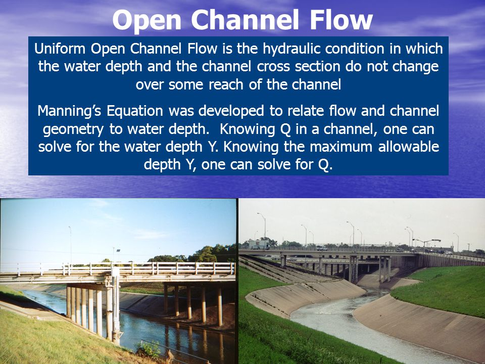 Open Channel Flow
