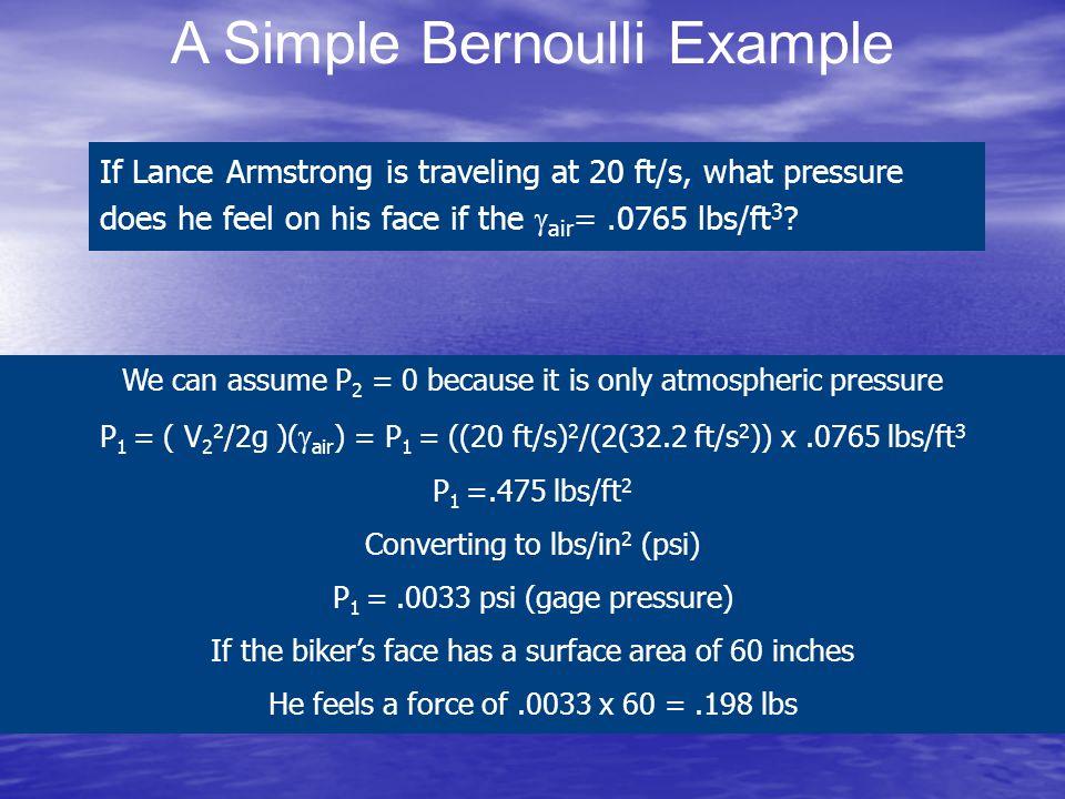 A Simple Bernoulli Example