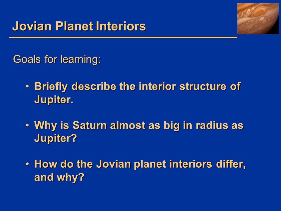 Jovian Planet Interiors