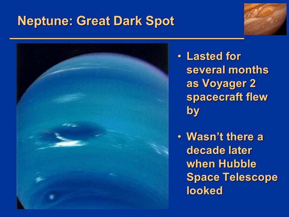 Neptune: Great Dark Spot