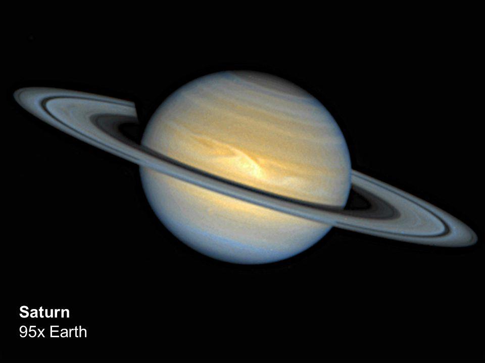 Saturn 95x Earth