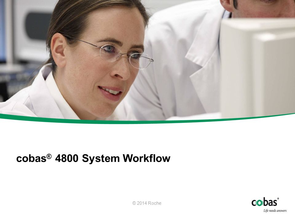 cobas® 4800 System Workflow