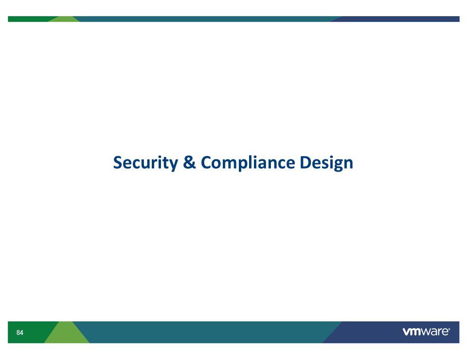 Security & Compliance Design
