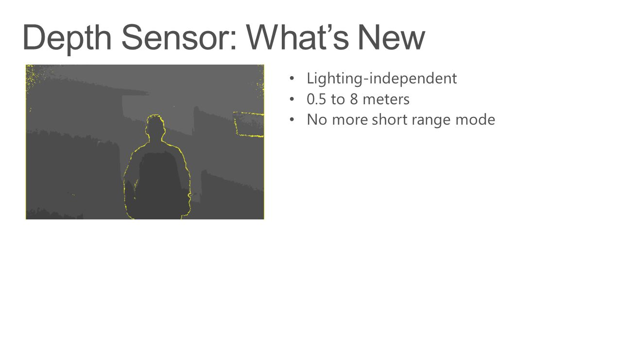 Depth Sensor: What's New