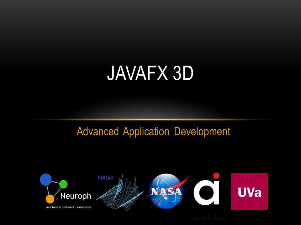Advanced Application Development