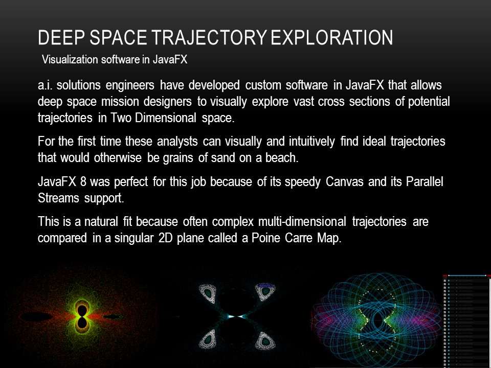 Deep Space Trajectory Exploration