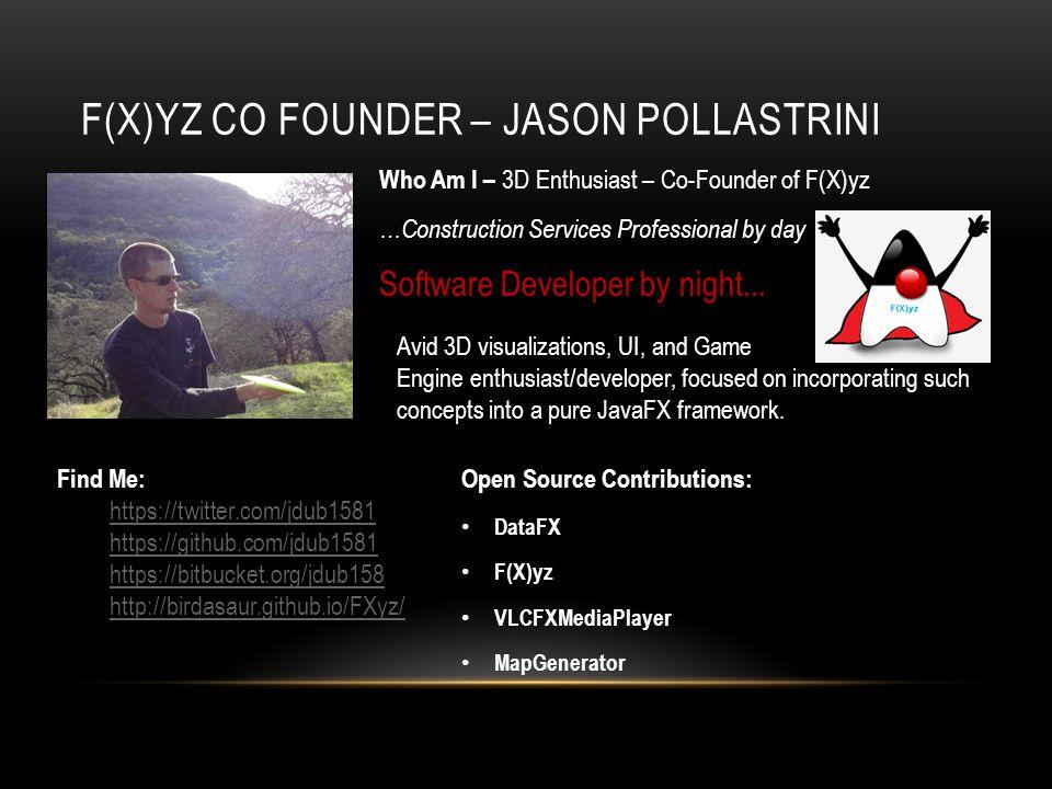 F(X)yz Co Founder – Jason POllastrini