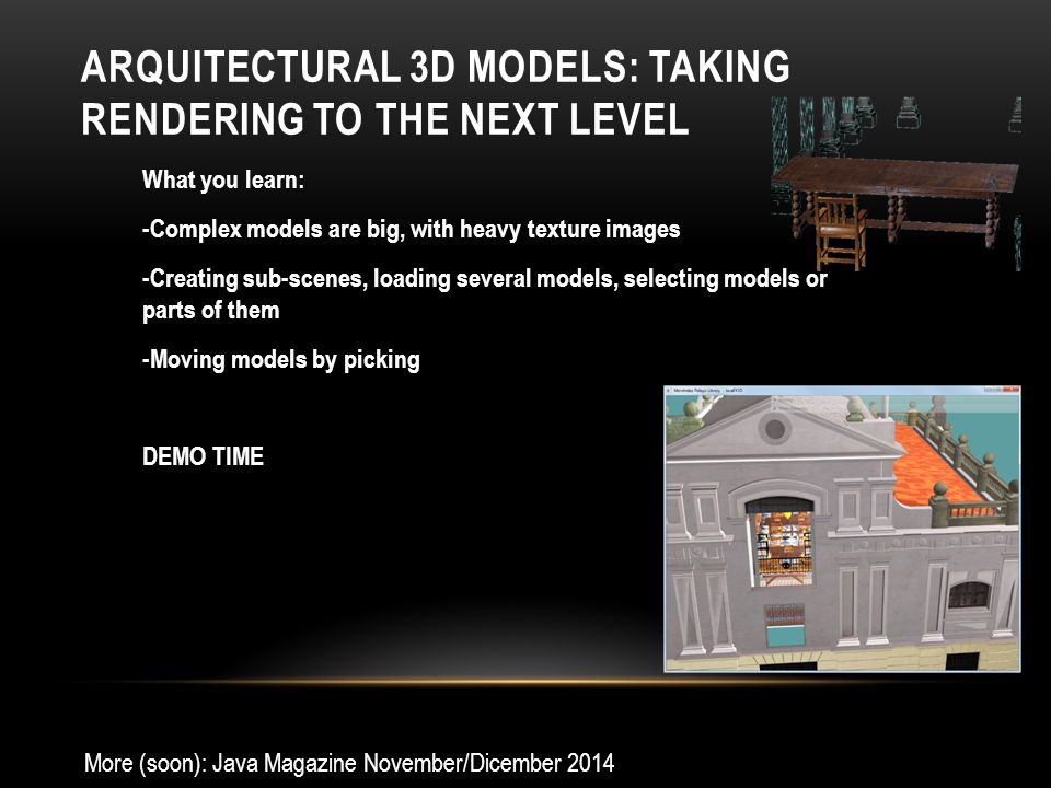 Arquitectural 3D models: Taking rendering to the next level