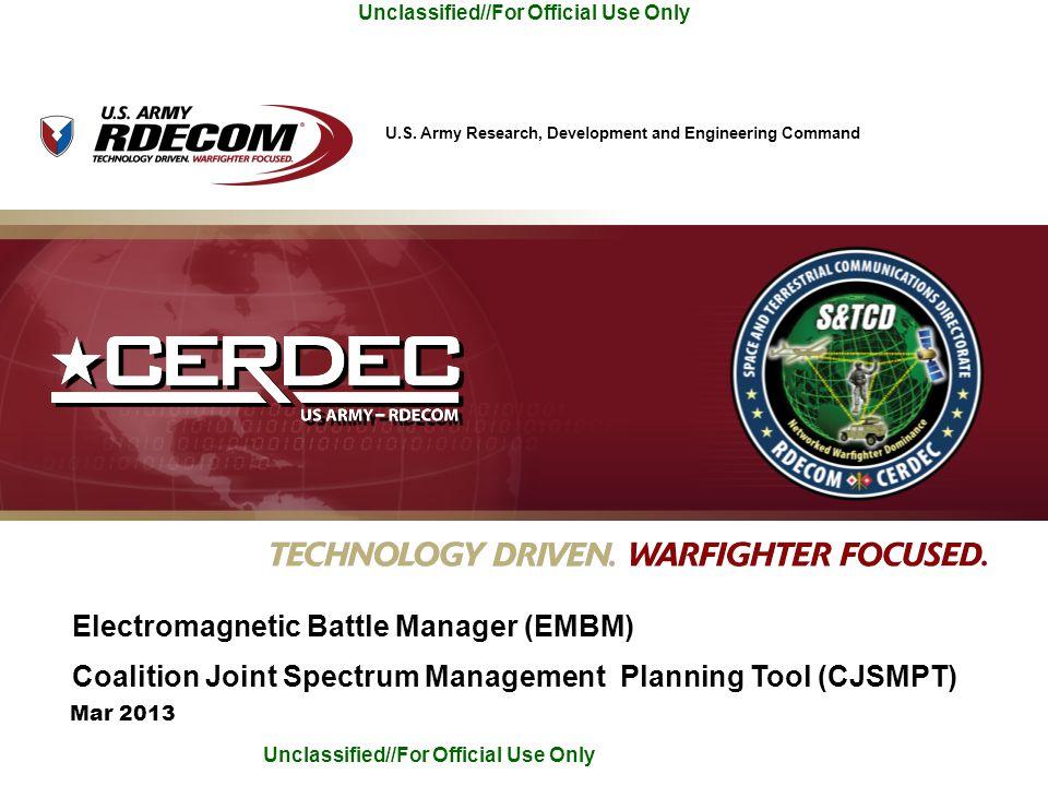 Electromagnetic Battle Manager (EMBM)