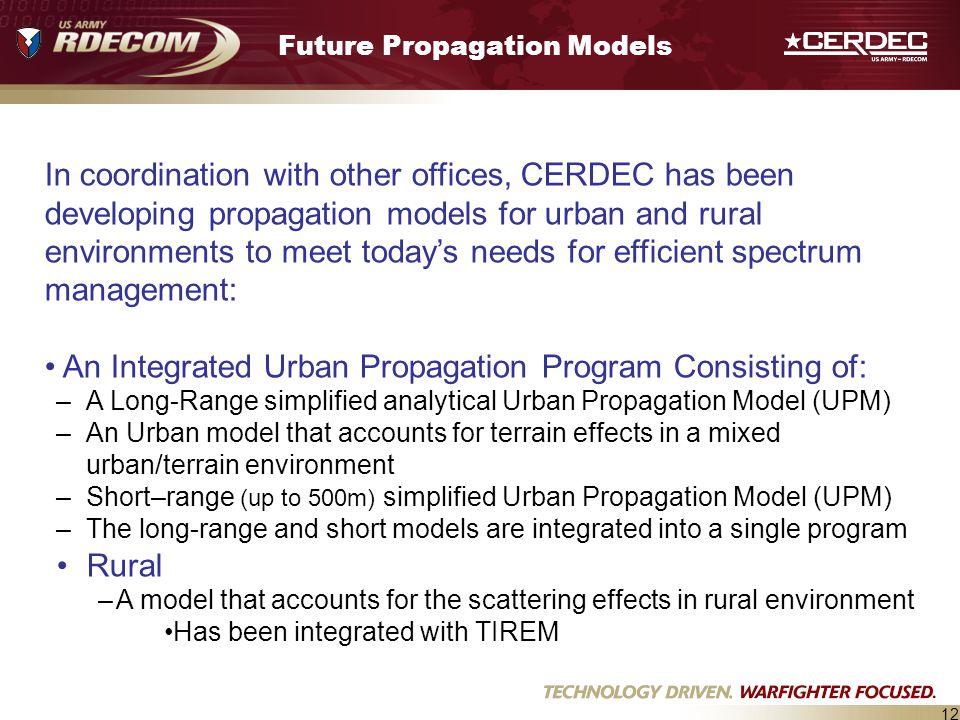 Future Propagation Models
