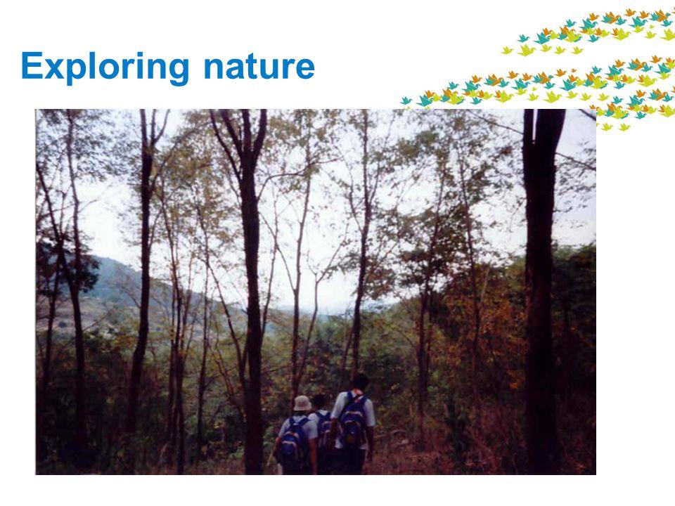Exploring nature Exploring Nature