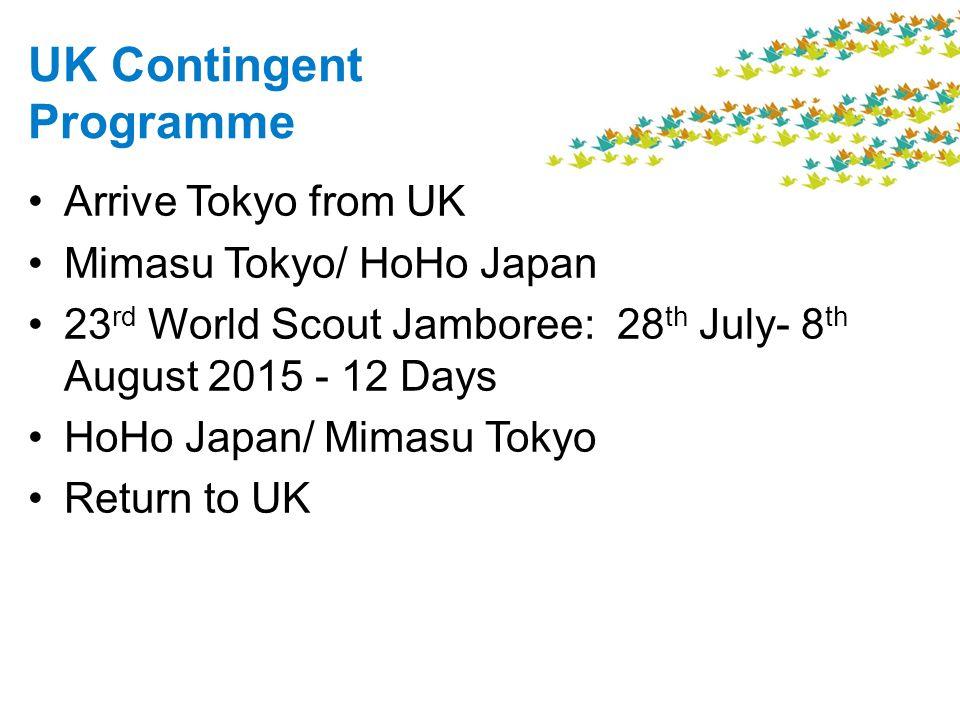 UK Contingent Programme