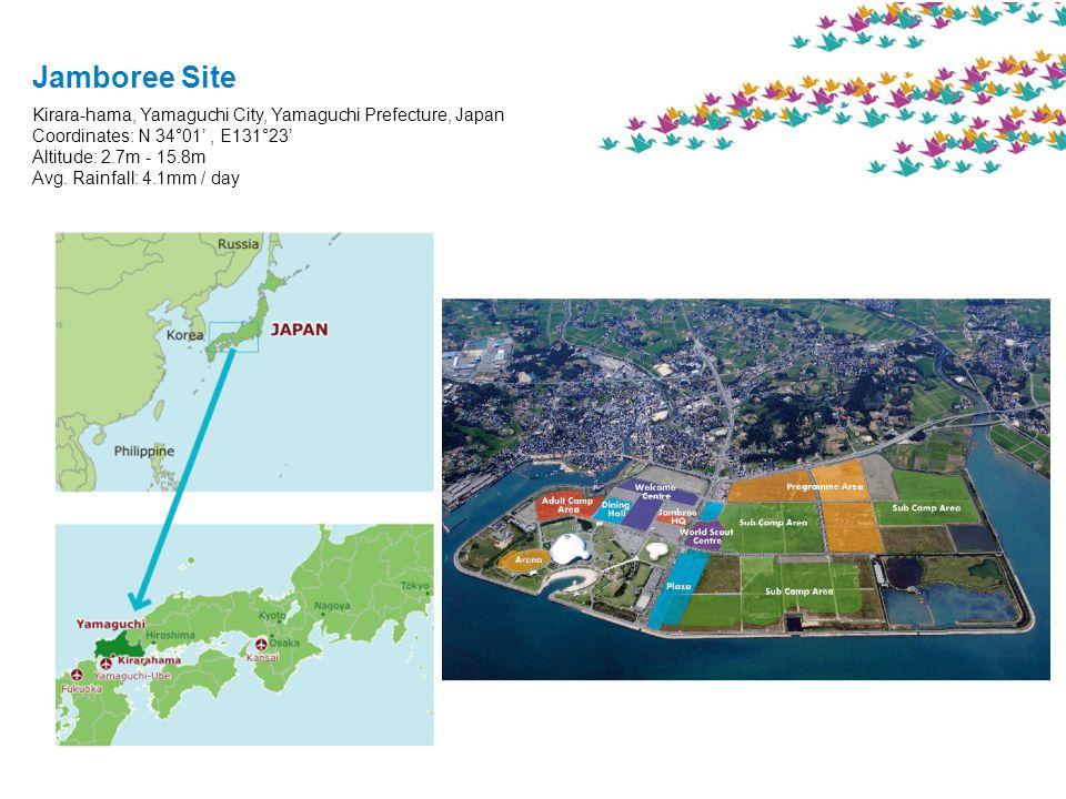 Jamboree Site Kirara-hama, Yamaguchi City, Yamaguchi Prefecture, Japan