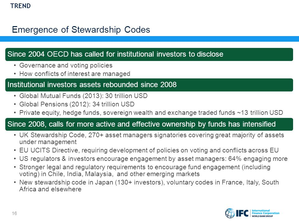 Emergence of Stewardship Codes