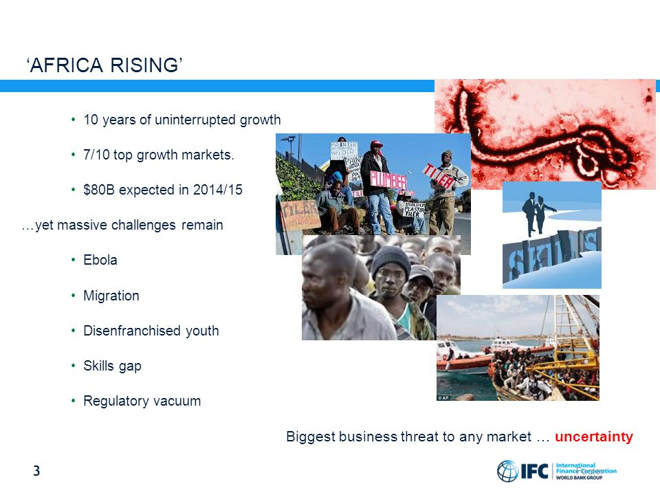 'Africa Rising' 10 years of uninterrupted growth