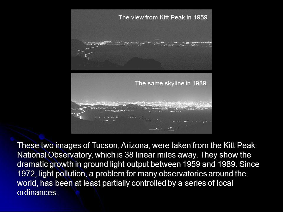 The view from Kitt Peak in 1959