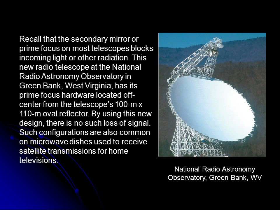 National Radio Astronomy Observatory, Green Bank, WV