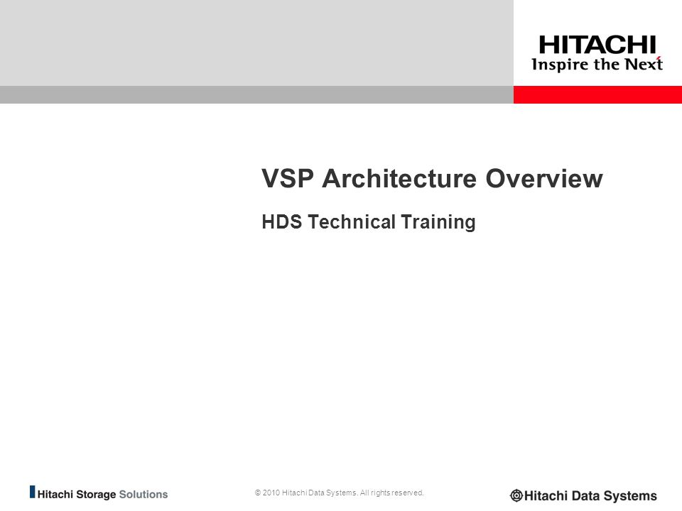 VSP Architecture Overview