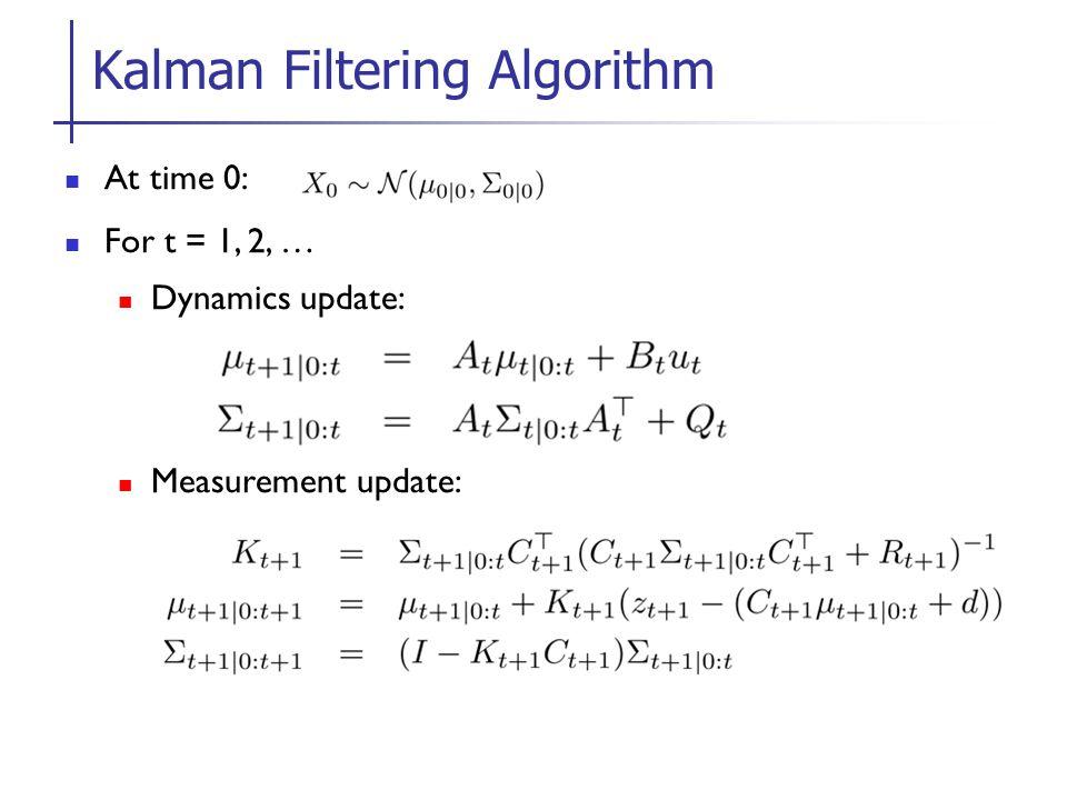 Kalman Filtering Algorithm