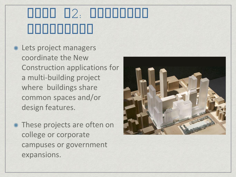 LEED v2: Multiple Buildings
