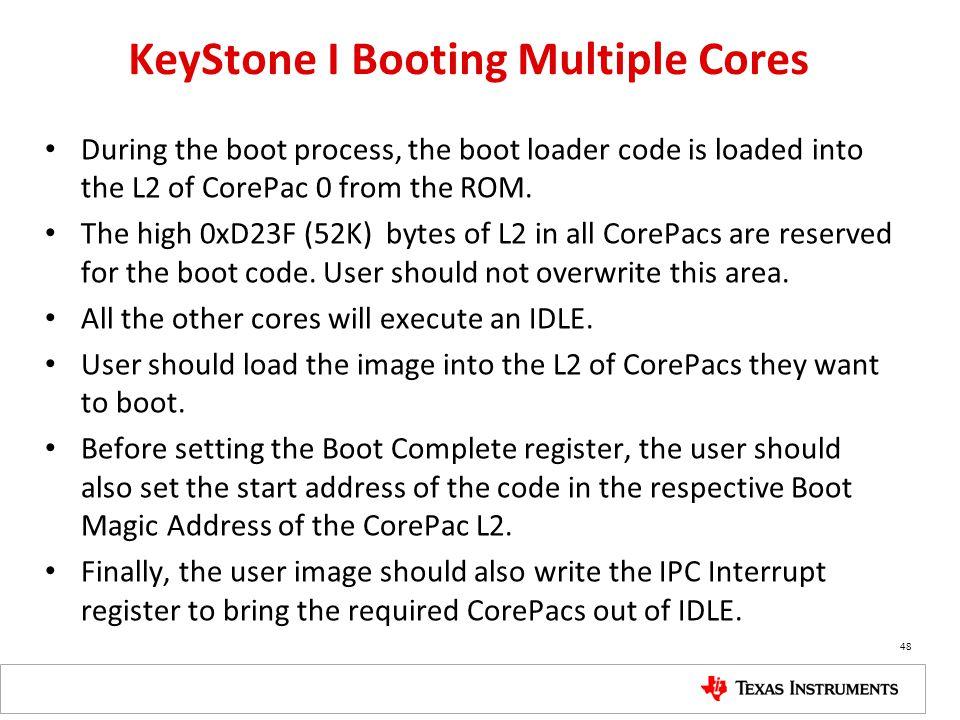 KeyStone I Booting Multiple Cores