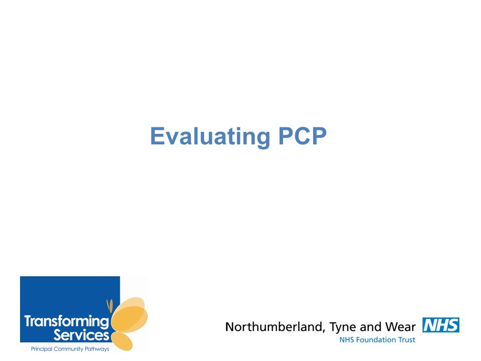 Evaluating PCP