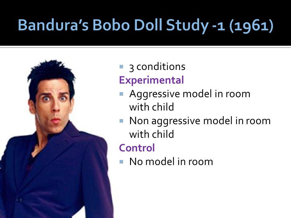 Bandura's Bobo Doll Study -1 (1961)
