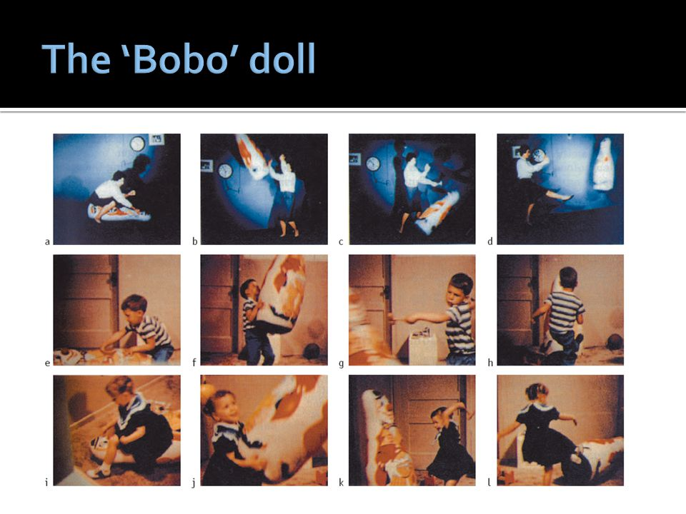 The 'Bobo' doll