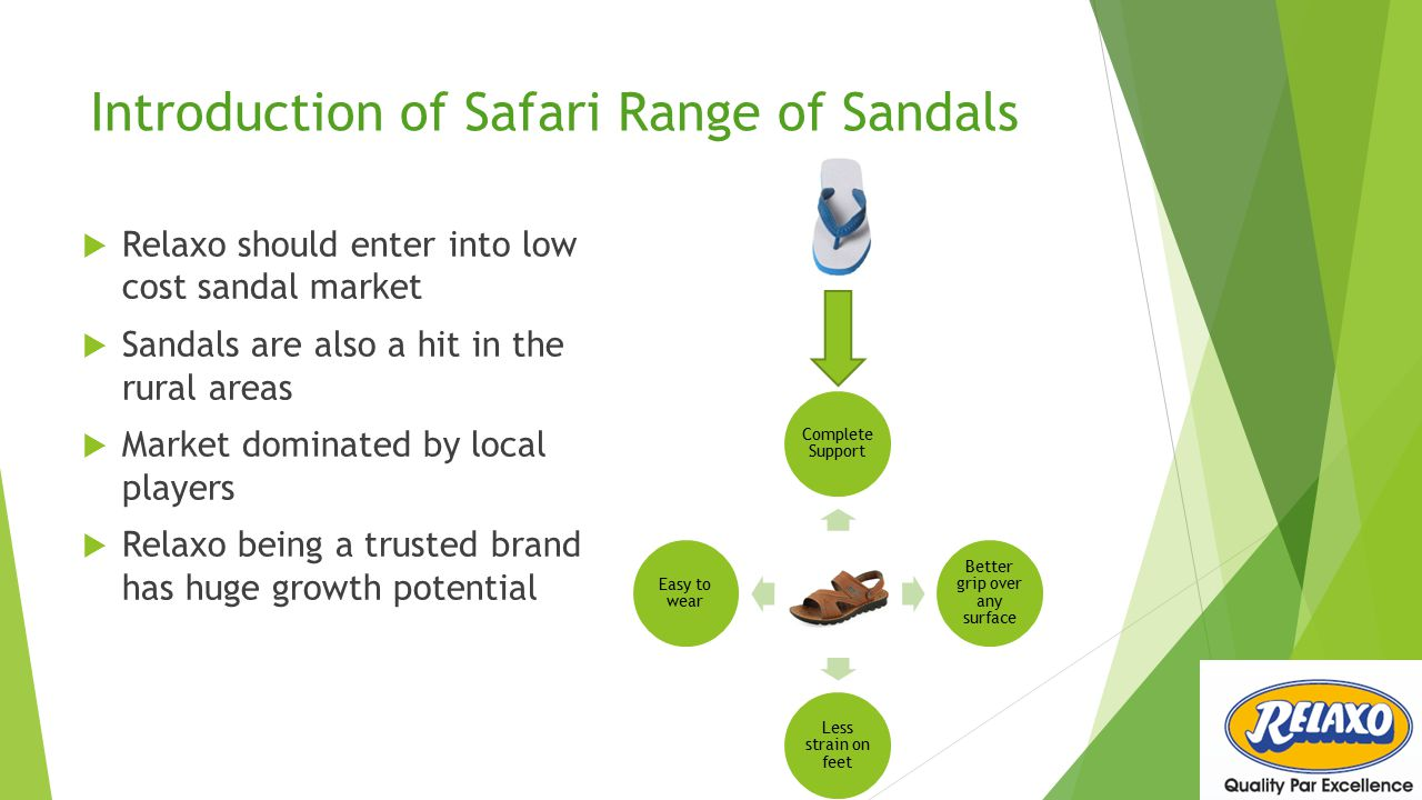 Introduction of Safari Range of Sandals