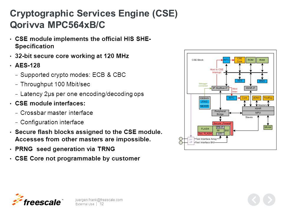 CSE2 Enhancements to CSE