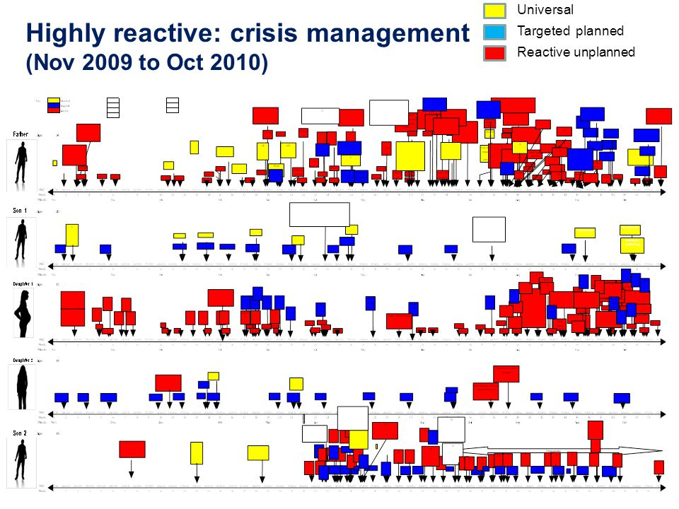 Highly reactive: crisis management (Nov 2009 to Oct 2010)