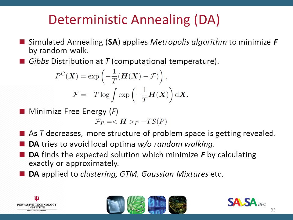 Deterministic Annealing (DA)