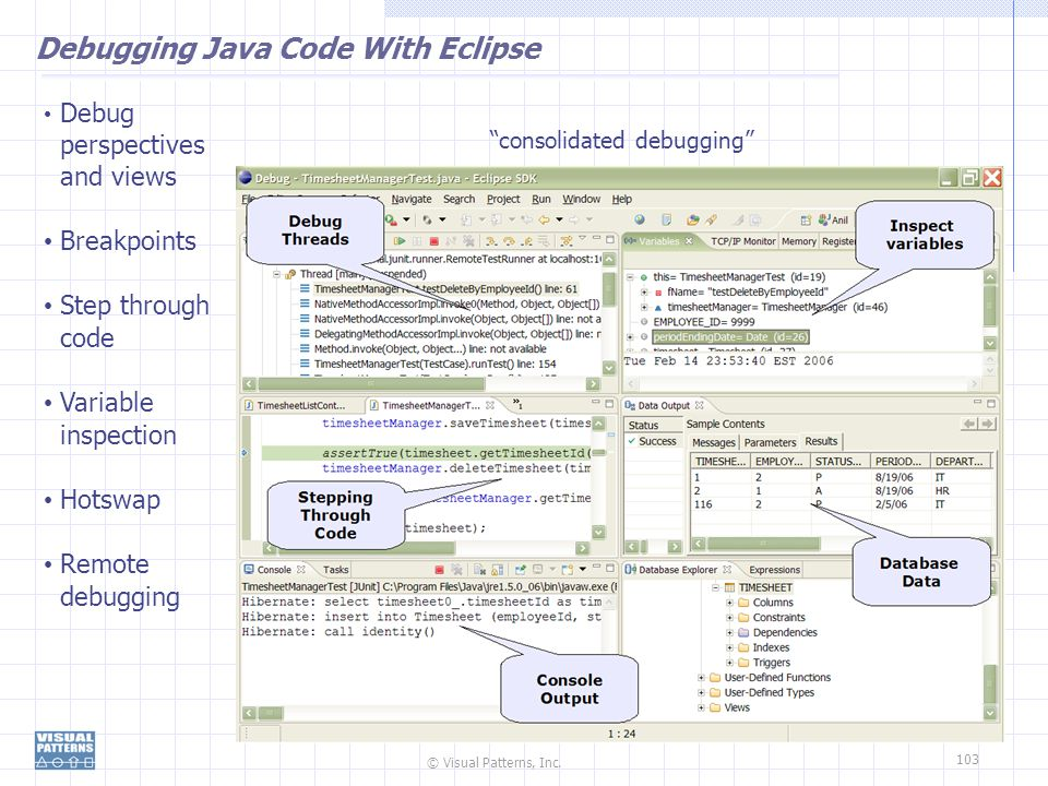Debugging Java Code With Eclipse