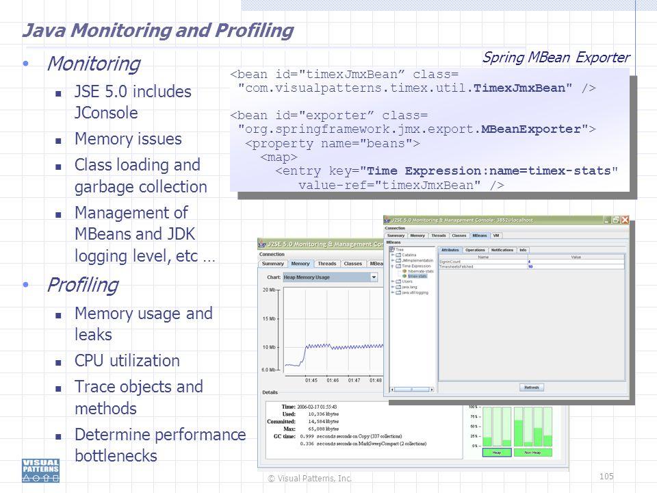 Java Monitoring and Profiling
