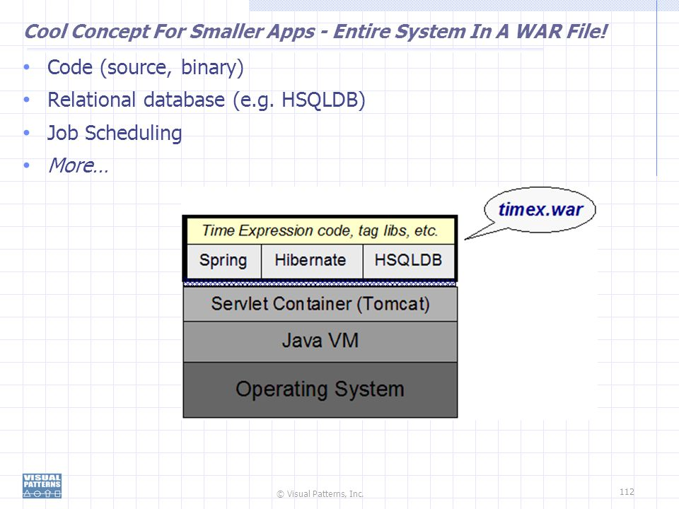 Cool Concept For Smaller Apps - Entire System In A WAR File!