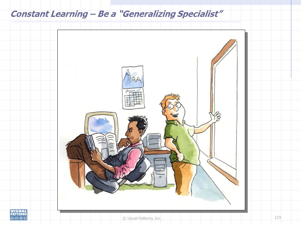 Constant Learning – Be a Generalizing Specialist