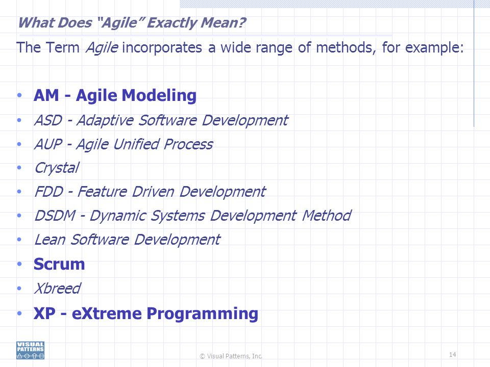 What Does Agile Exactly Mean