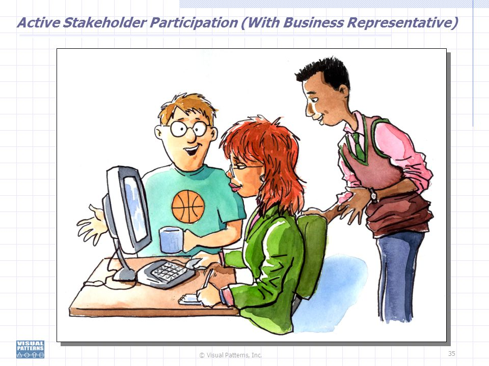 Active Stakeholder Participation (With Business Representative)