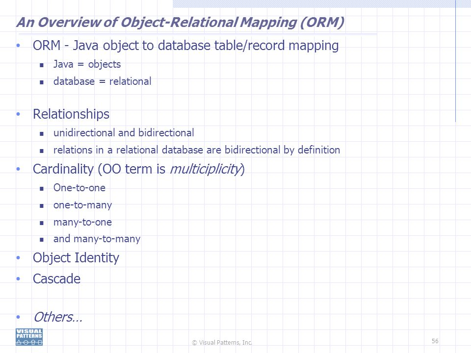 An Overview of Object-Relational Mapping (ORM)