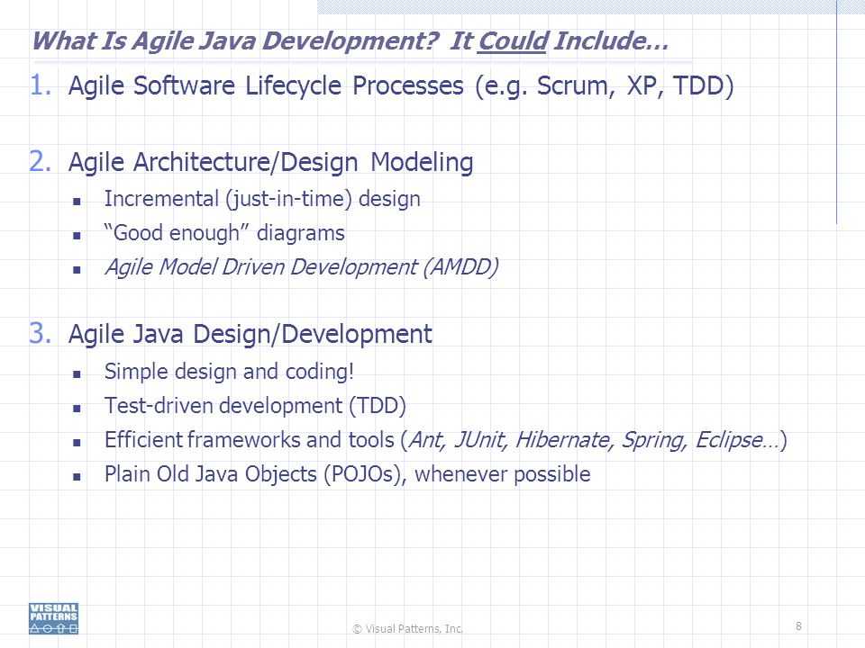 What Is Agile Java Development It Could Include…