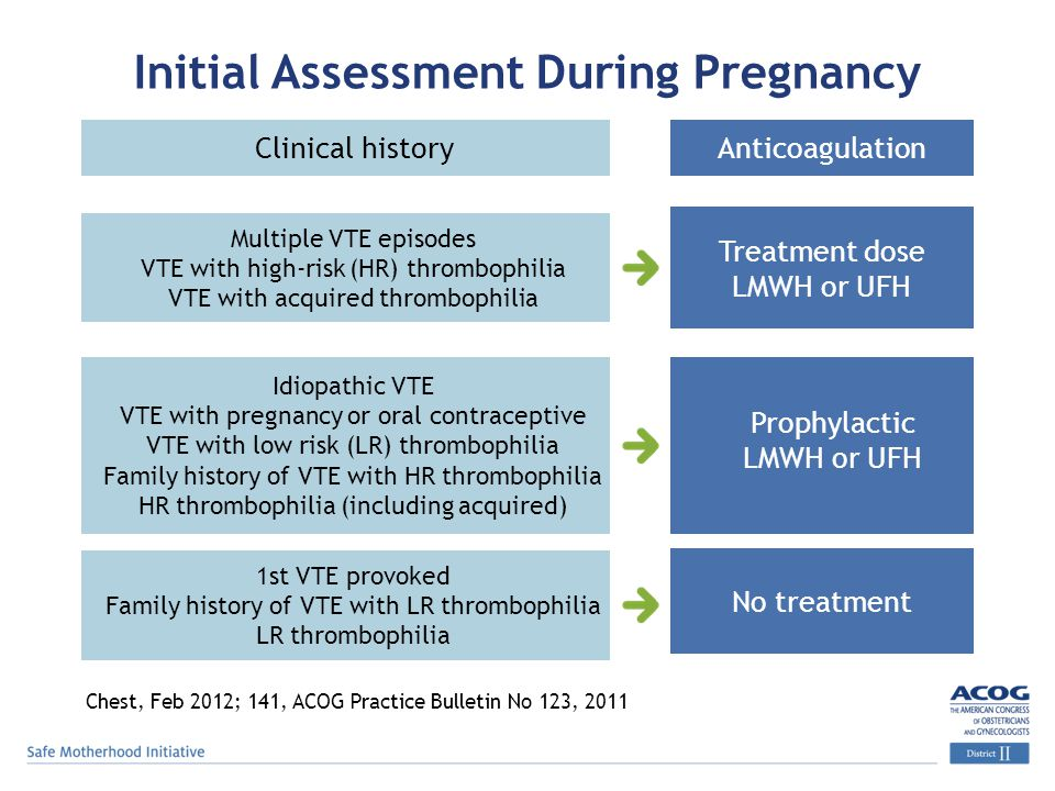 Initial Assessment During Pregnancy