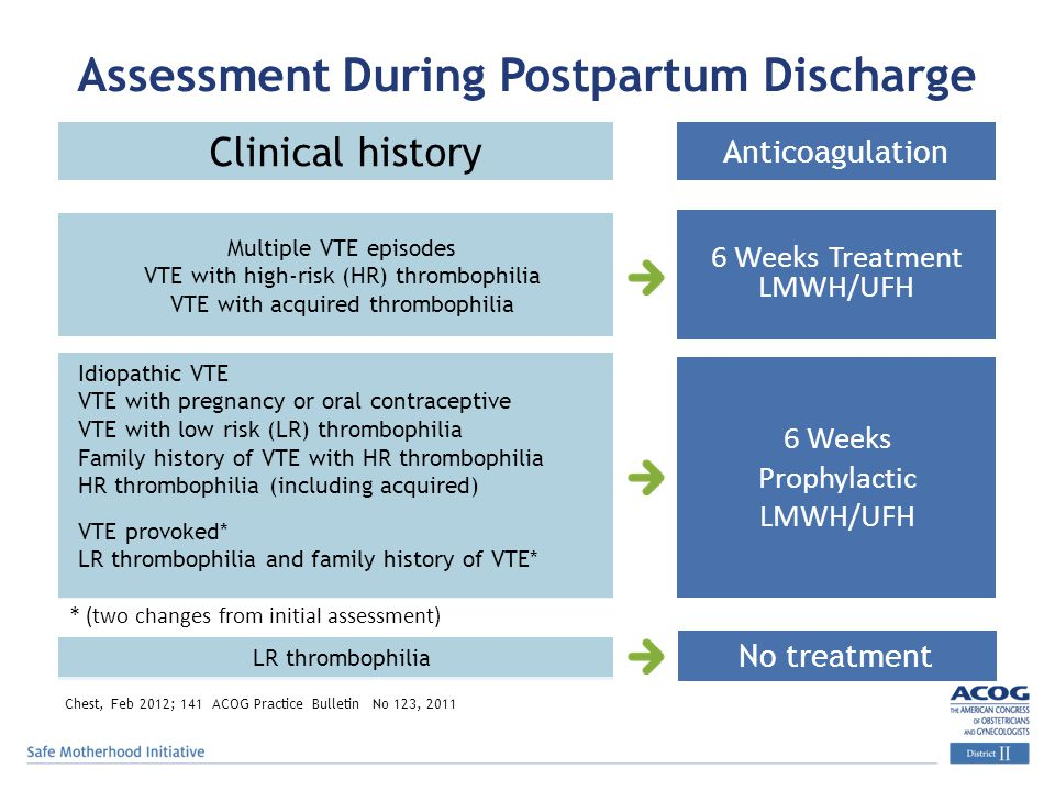 Assessment During Postpartum Discharge
