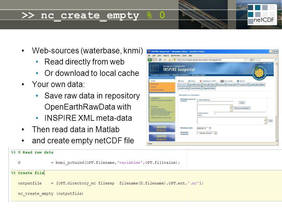 >> nc_create_empty % 0