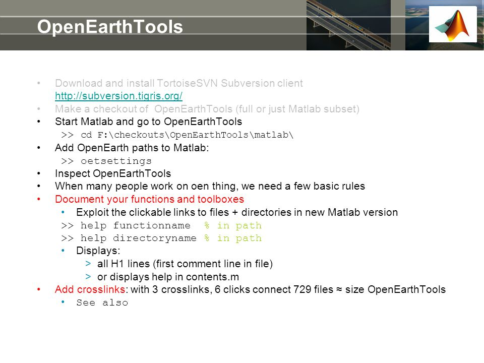 OpenEarthTools Download and install TortoiseSVN Subversion client