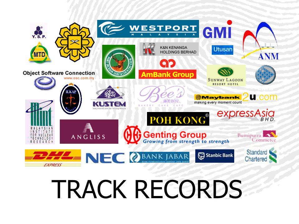 GMI TRACK RECORDS