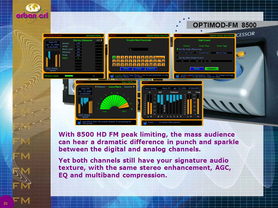 OPTIMOD-FM 8500