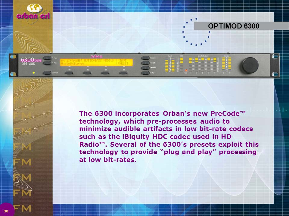 OPTIMOD 6300