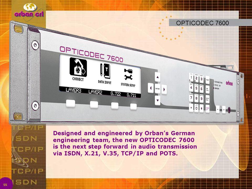 OPTICODEC 7600